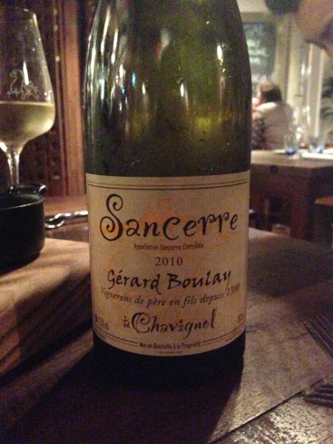 2010 Gerard Boulay Sancerre Tradition - $82